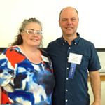 Chris Tiegreen and I at the 2015 Write-to-Publish Conference